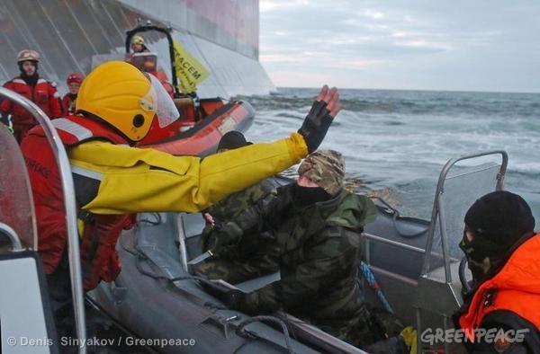 Rusija šią savaitę: Kovos su Greenpeace